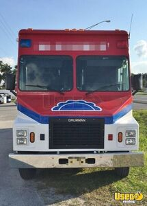 1990 Chevy 6t042 Grunman All-purpose Food Truck Air Conditioning Florida Gas Engine for Sale