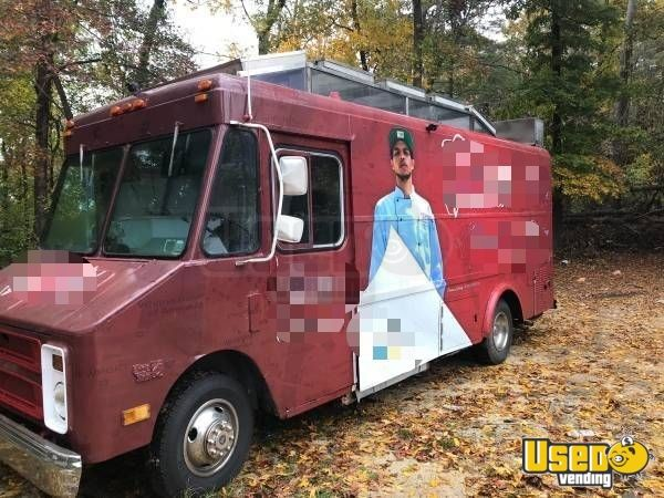 1990 Chevy Food Truck Concession Window North Carolina for Sale - 2