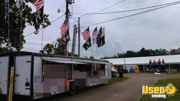 1990 Food Concession Trailer Concession Trailer Air Conditioning Ohio for Sale