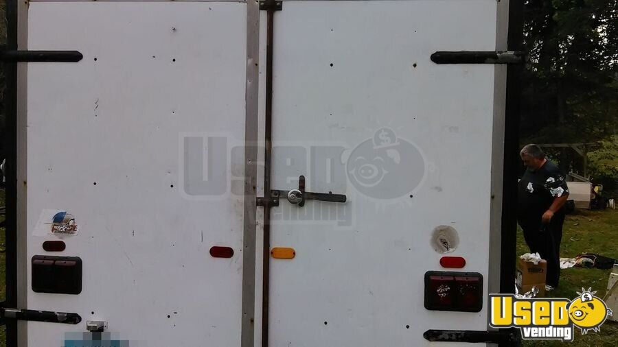 1990 Food Concession Trailer Concession Trailer Cabinets Ohio for Sale - 3