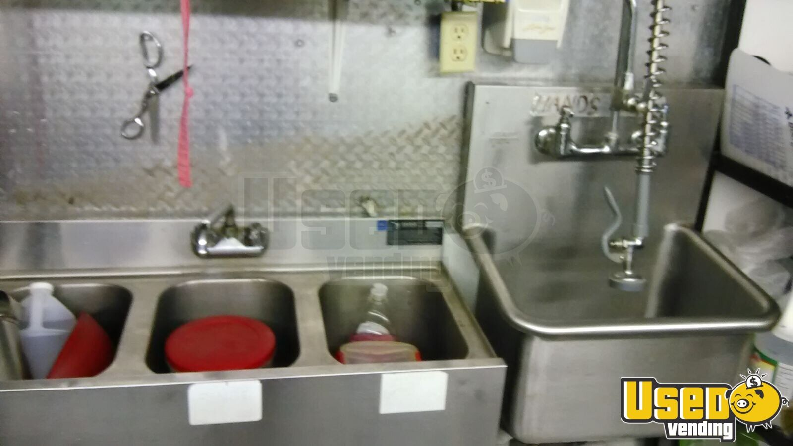 1990 Food Concession Trailer Concession Trailer Refrigerator Ohio for Sale - 7