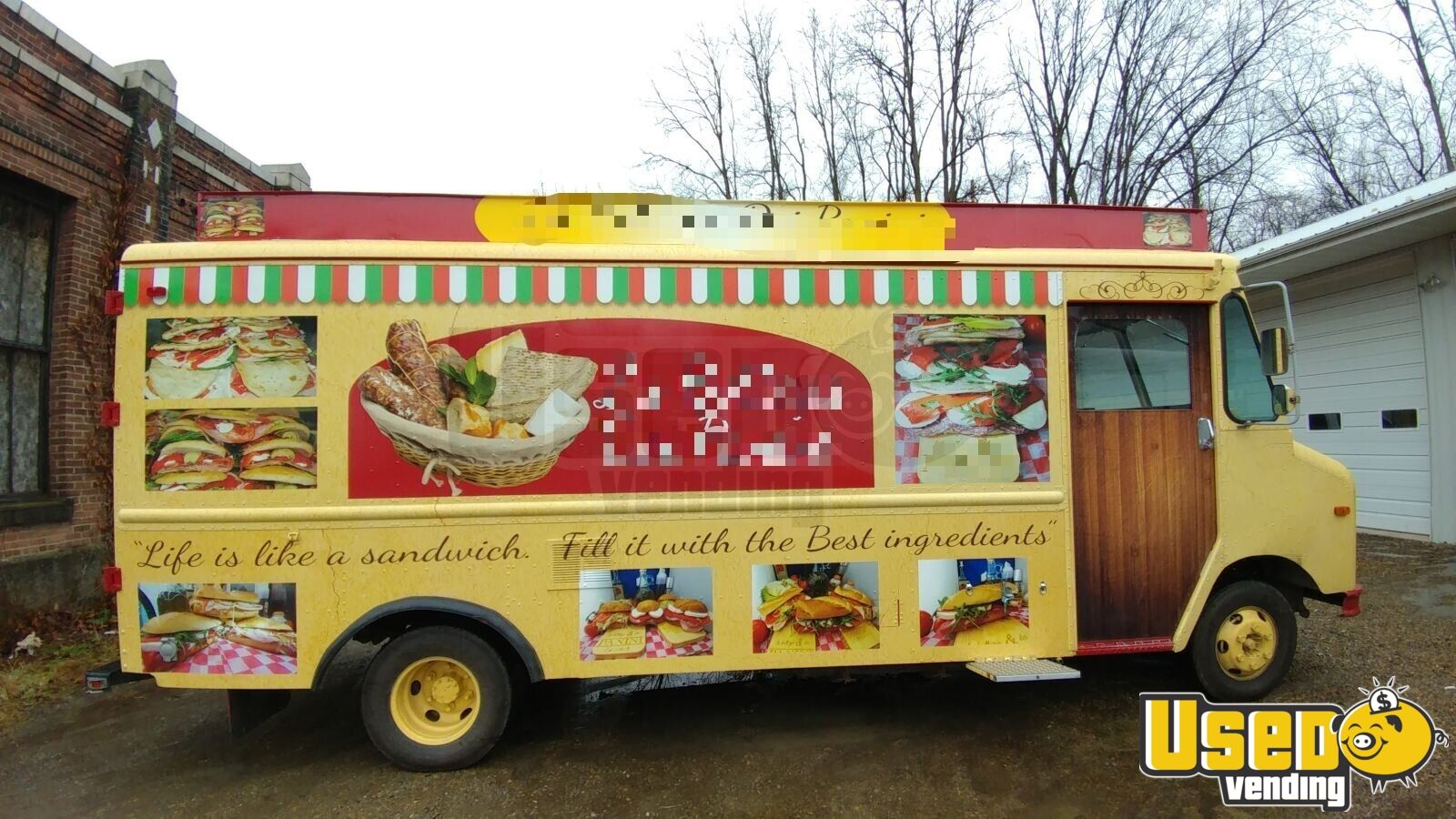 1990 Gmcbox Truck All-purpose Food Truck Concession Window Pennsylvania Diesel Engine for Sale - 2