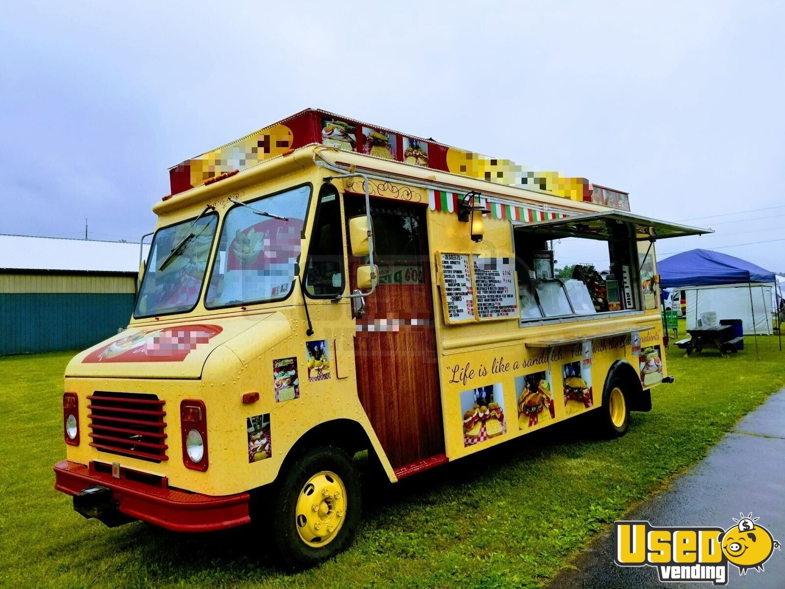 1990 Gmcbox Truck All-purpose Food Truck Refrigerator Pennsylvania Diesel Engine for Sale - 7