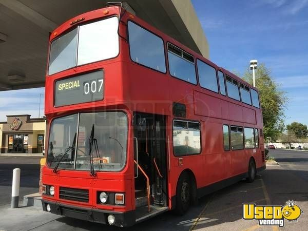 Leyland Olympian Double Decker Bus Used Limos Stretch Limousine