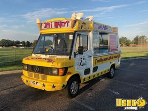 1990 Mercedes 208d Ice Cream Truck Deep Freezer Florida Diesel Engine for Sale