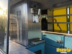 1990 Mercedes 208d Ice Cream Truck Soft Serve Machine Florida Diesel Engine for Sale