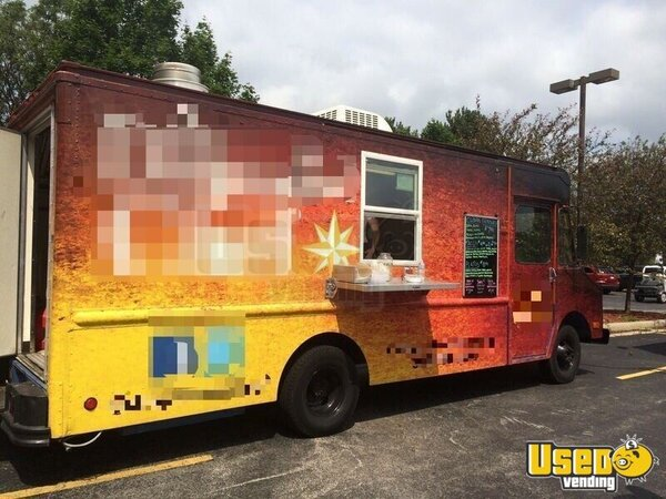 1990 P30 Step Van Kitchen Food Truck All-purpose Food Truck Ohio Gas Engine for Sale