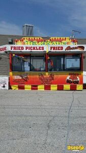 1990 Show Me Concession Trailer Air Conditioning Oklahoma for Sale