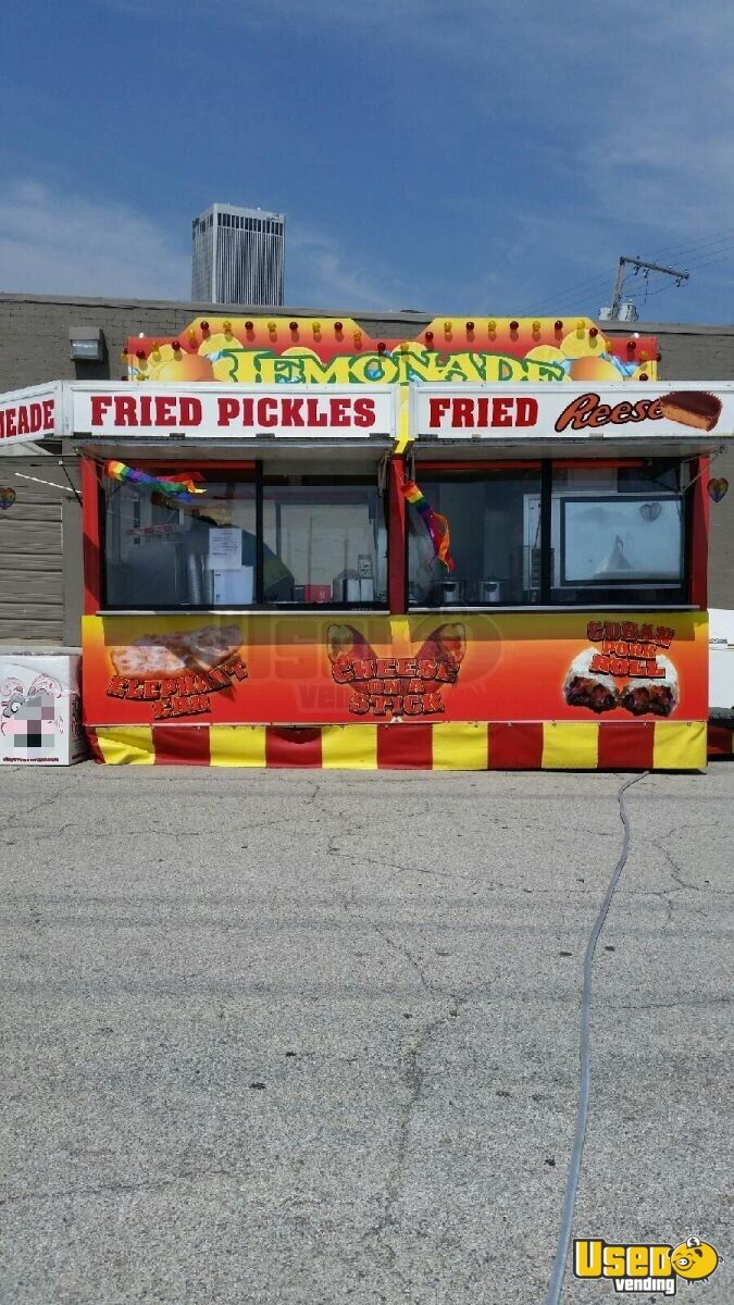 1990 Show Me Concession Trailer Air Conditioning Oklahoma for Sale - 2