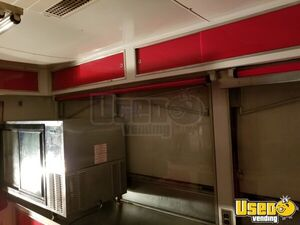 1990 Show Me Concession Trailer Stainless Steel Wall Covers Oklahoma for Sale