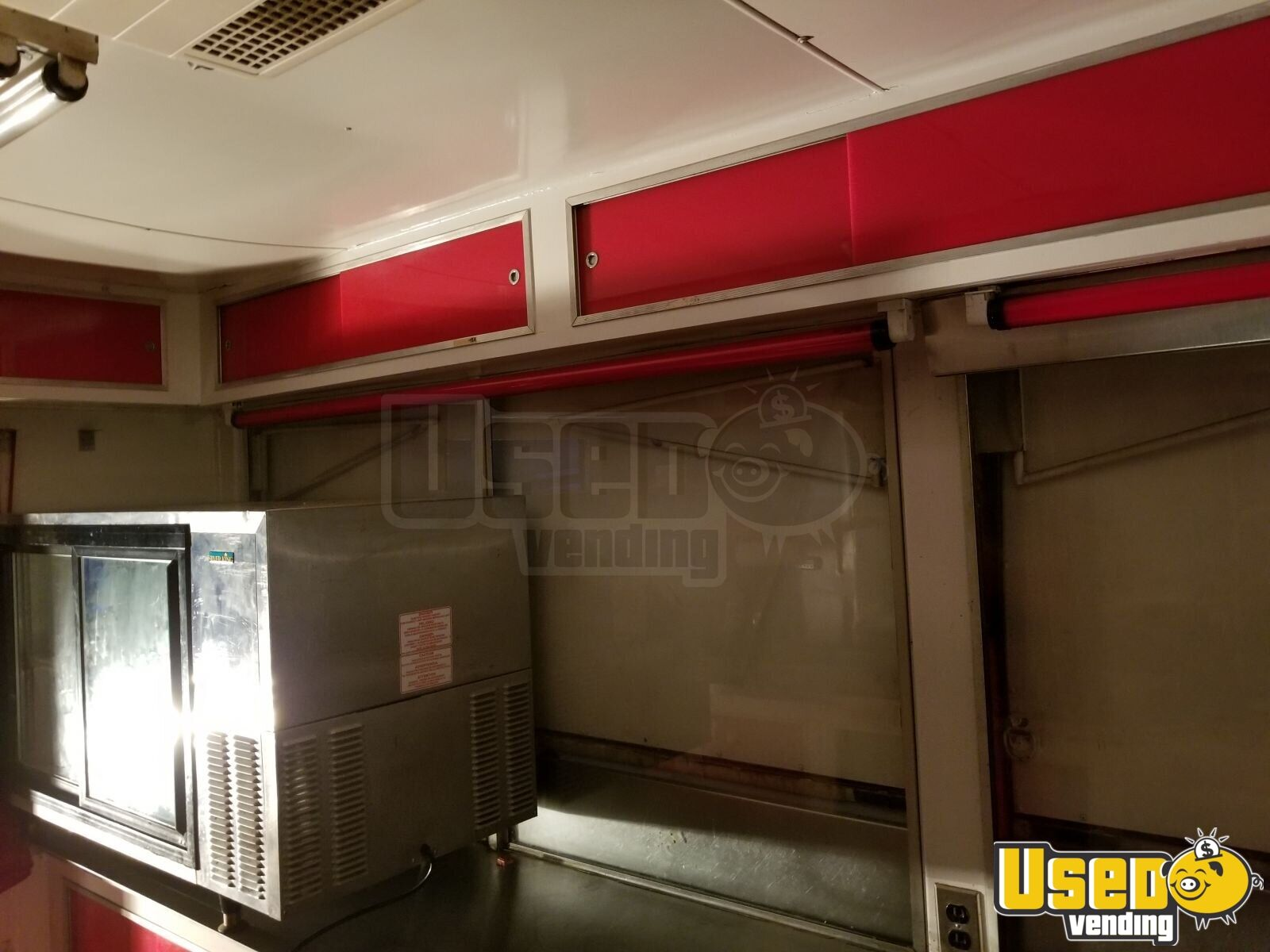 1990 Show Me Concession Trailer Stainless Steel Wall Covers Oklahoma for Sale - 5