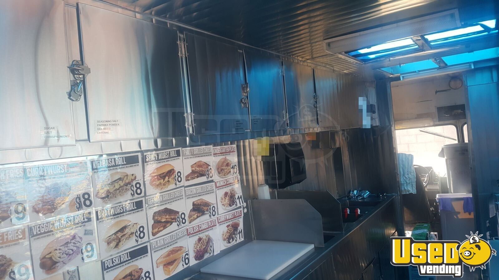 1991 Chevi P30 All-purpose Food Truck Stainless Steel Wall Covers Nevada for Sale - 4