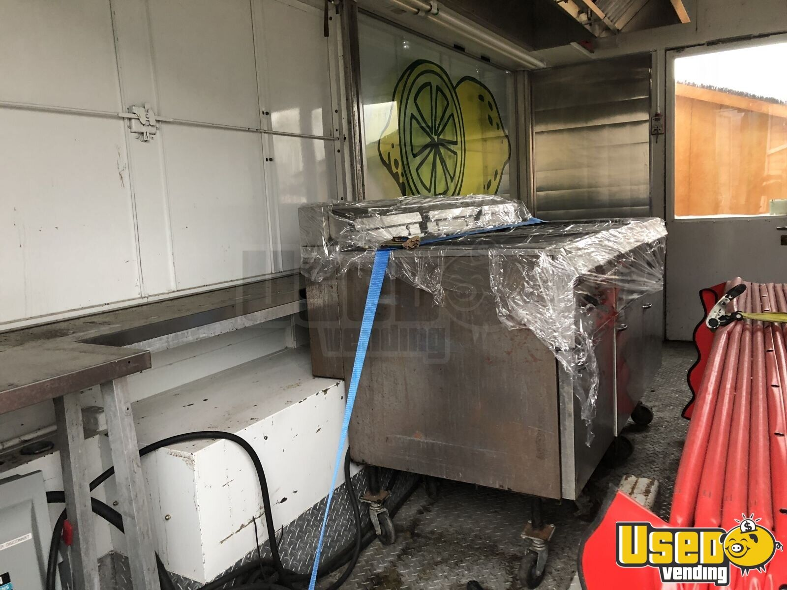 1991 Food Concession Trailer Kitchen Food Trailer Fryer Pennsylvania for Sale - 9