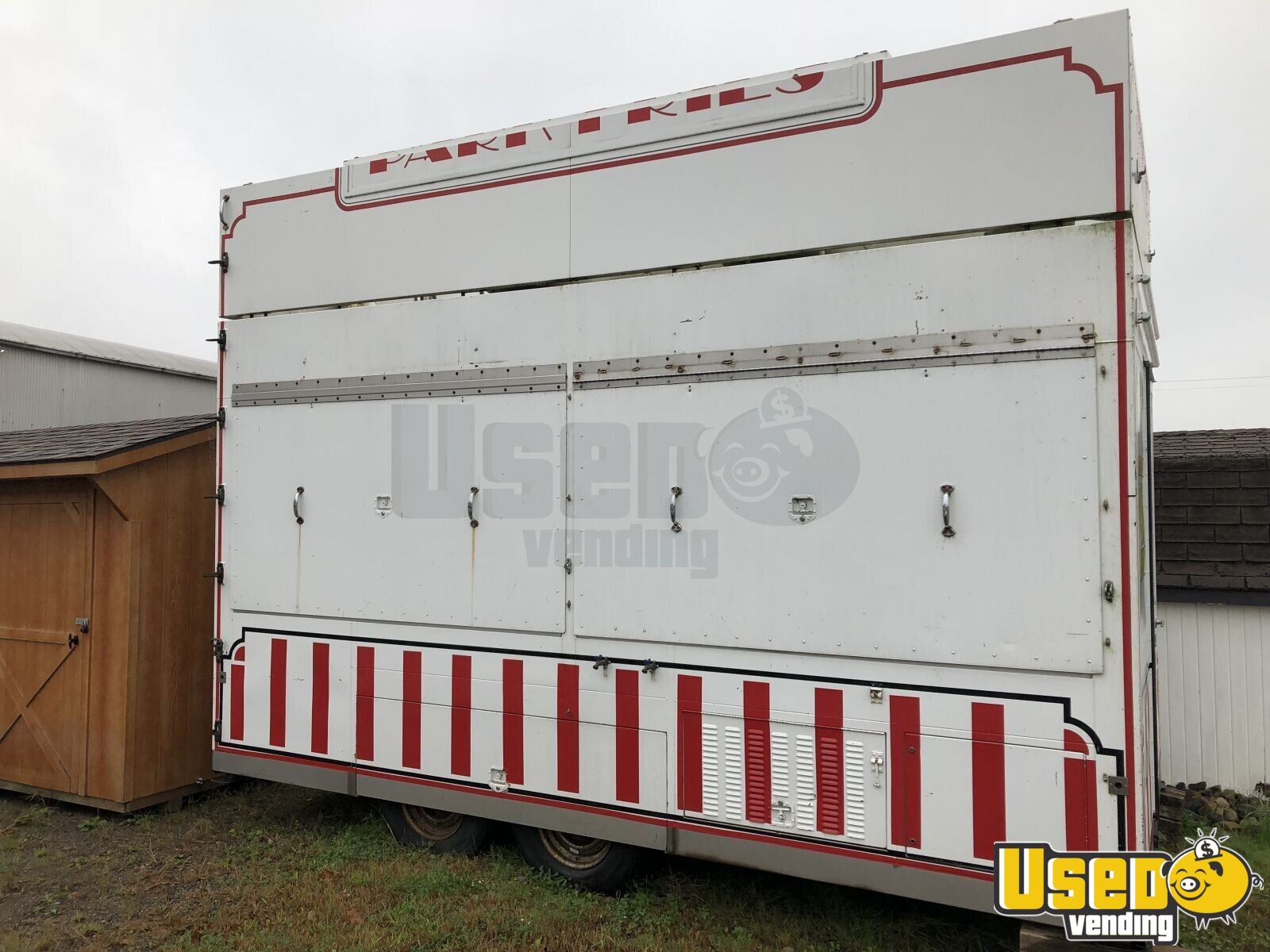 1991 Food Concession Trailer Kitchen Food Trailer Stainless Steel Wall Covers Pennsylvania for Sale - 5