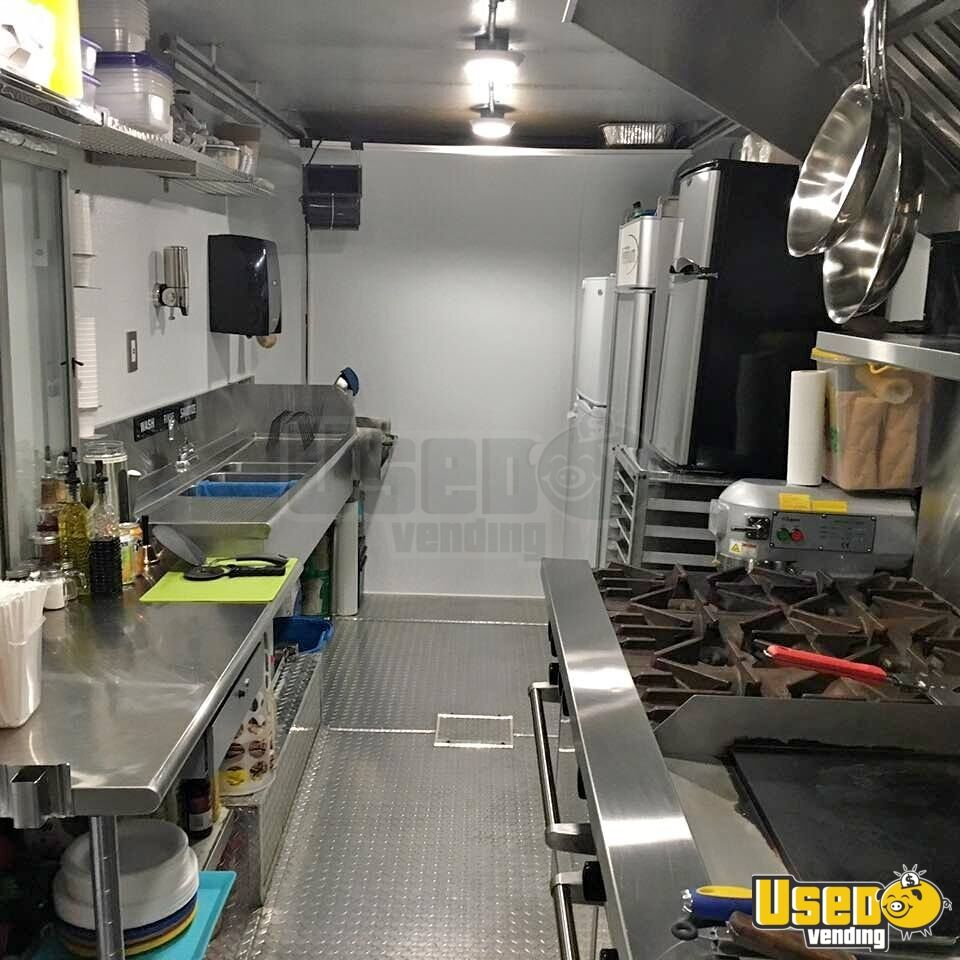 1991 Gmc All-purpose Food Truck Prep Station Cooler Florida for Sale - 8