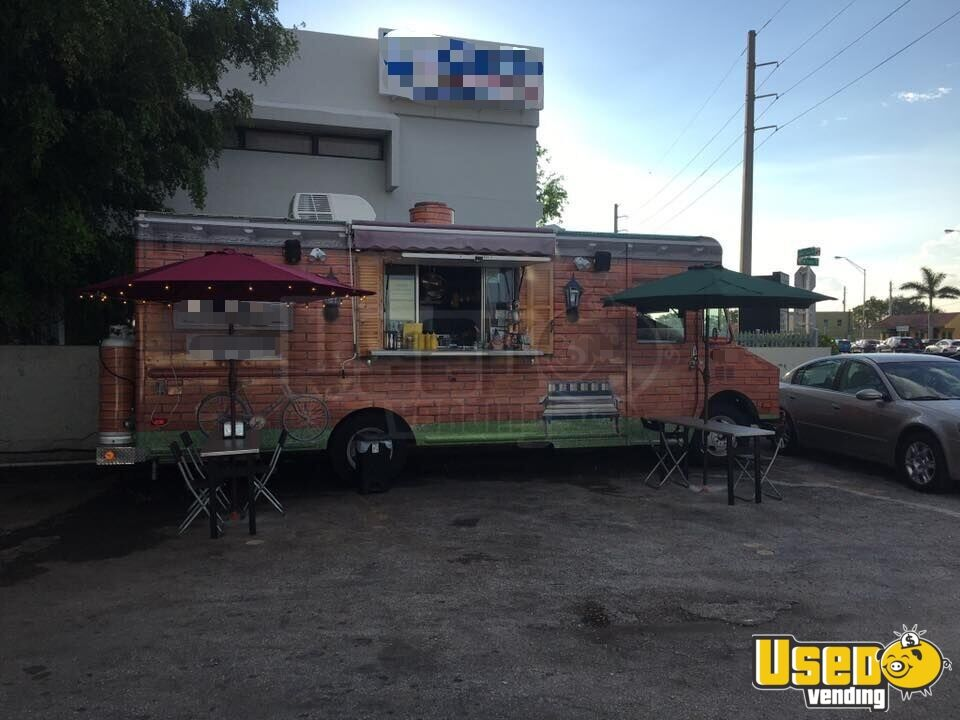 1991 Gmc Food Truck Concession Window Florida for Sale - 2