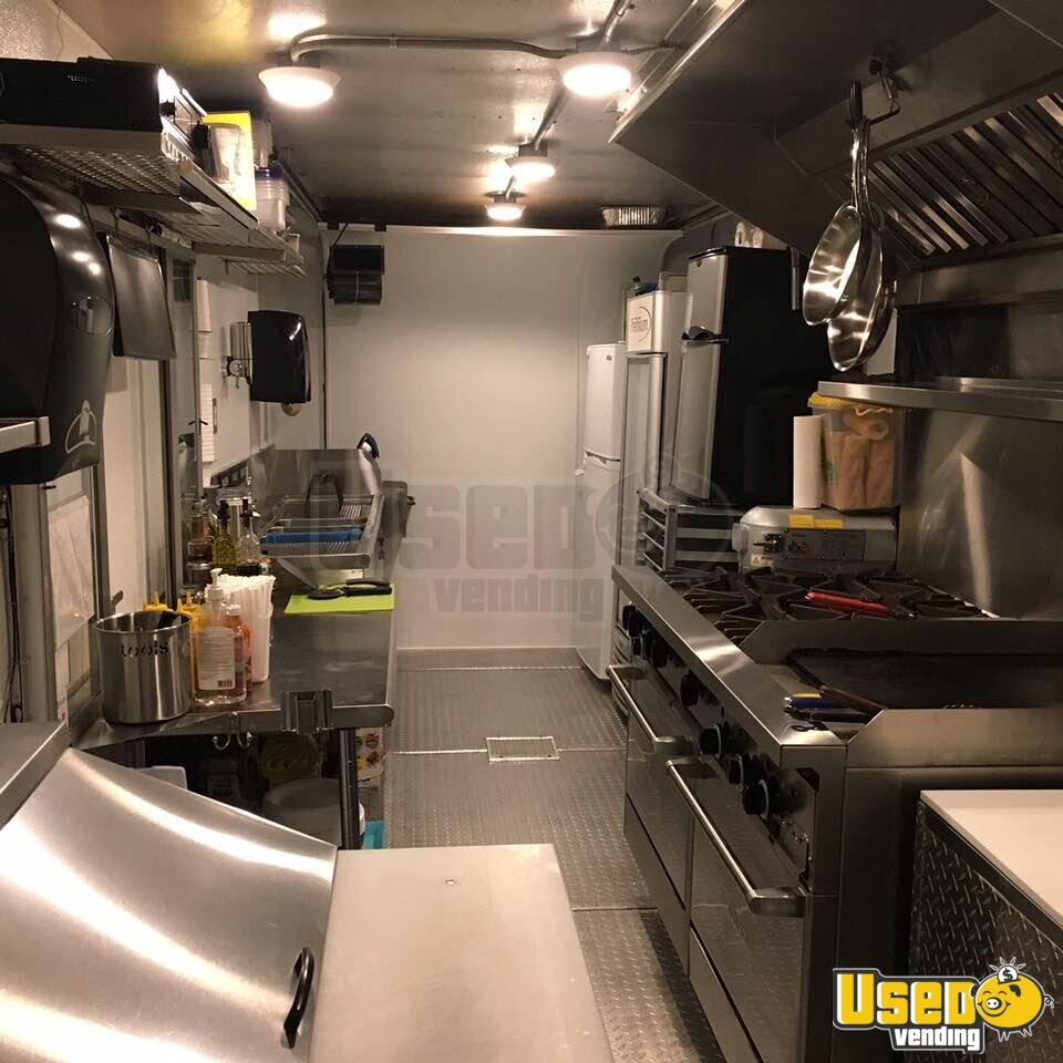 1991 Gmc Food Truck Exterior Customer Counter Florida for Sale - 5