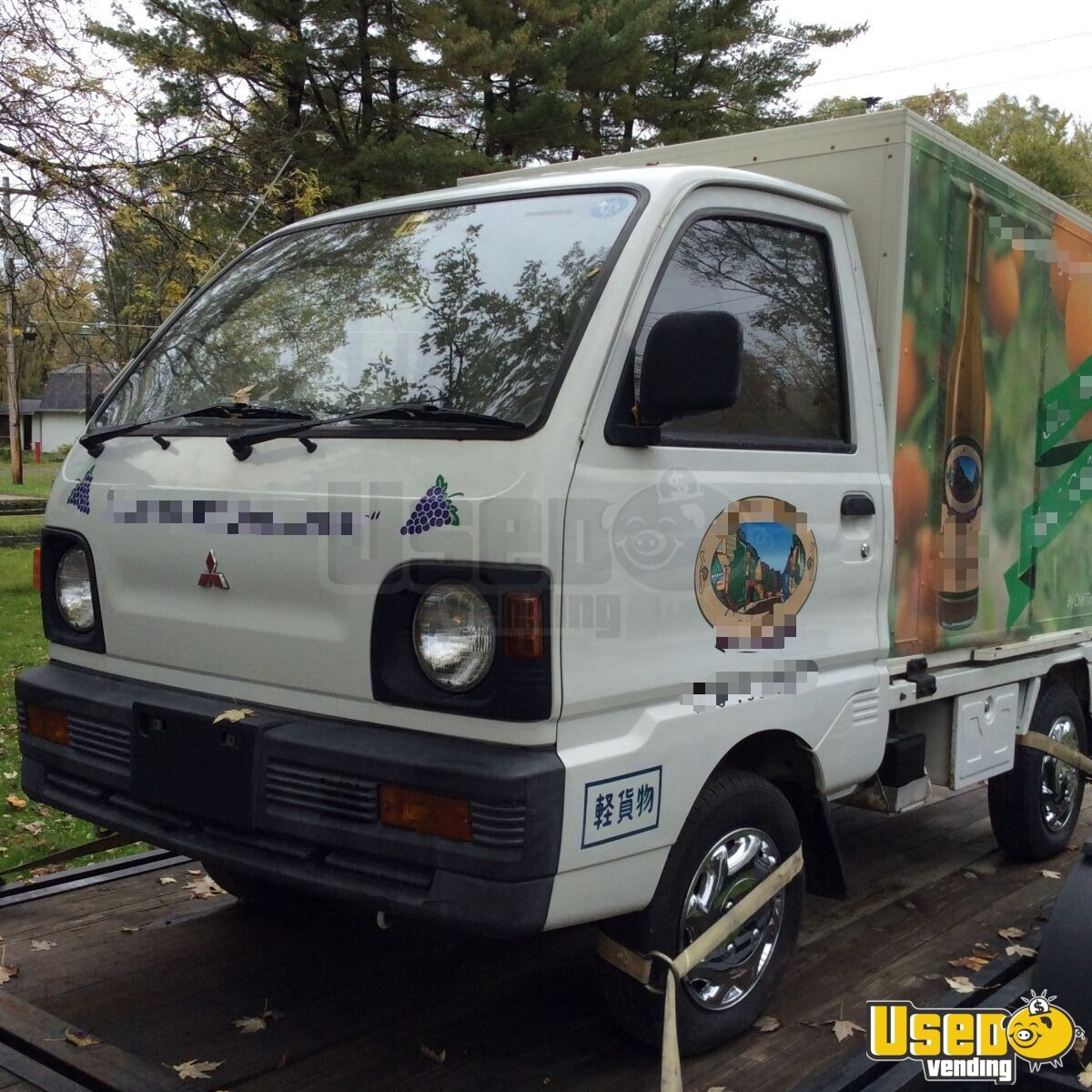 mitsubishi mini truck used truck for conversion for sale in new york. Black Bedroom Furniture Sets. Home Design Ideas