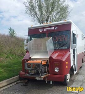 1991 P30 Step Van Kitchen Food Truck All-purpose Food Truck Concession Window Maryland for Sale