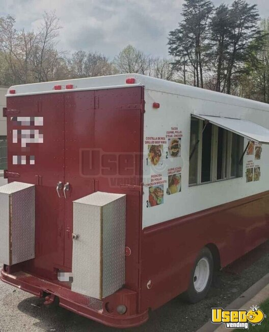 1991 P30 Step Van Kitchen Food Truck All-purpose Food Truck Maryland for Sale