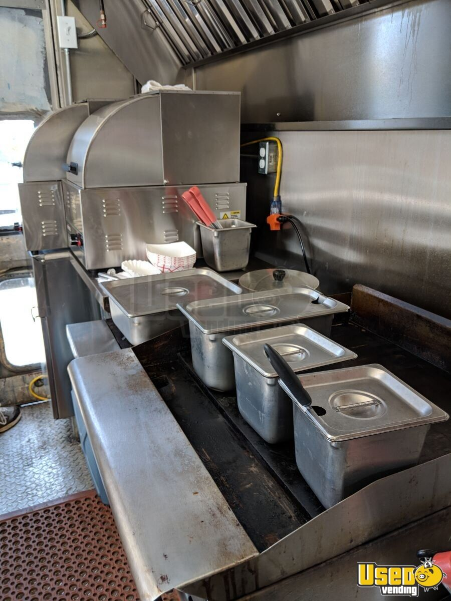 1991 Stepvan Kitchen Food Truck All-purpose Food Truck Exterior Customer Counter Tennessee Gas Engine for Sale - 5