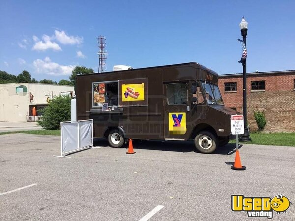 1991 Stepvan Kitchen Food Truck All-purpose Food Truck Tennessee Gas Engine for Sale