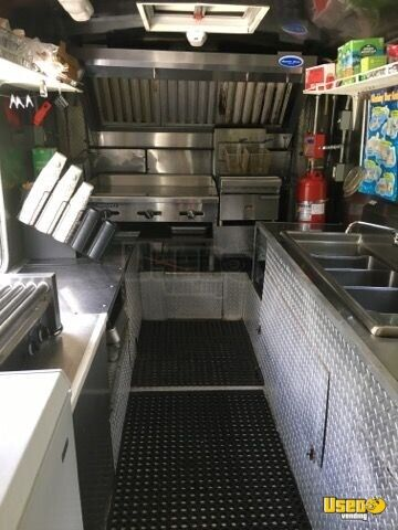 1992 All-purpose Food Truck Stainless Steel Wall Covers New Jersey Gas Engine for Sale - 4