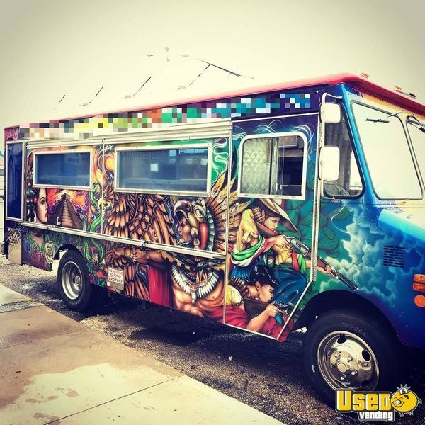 1992 Chevy P30 All-purpose Food Truck Deep Freezer Texas for Sale