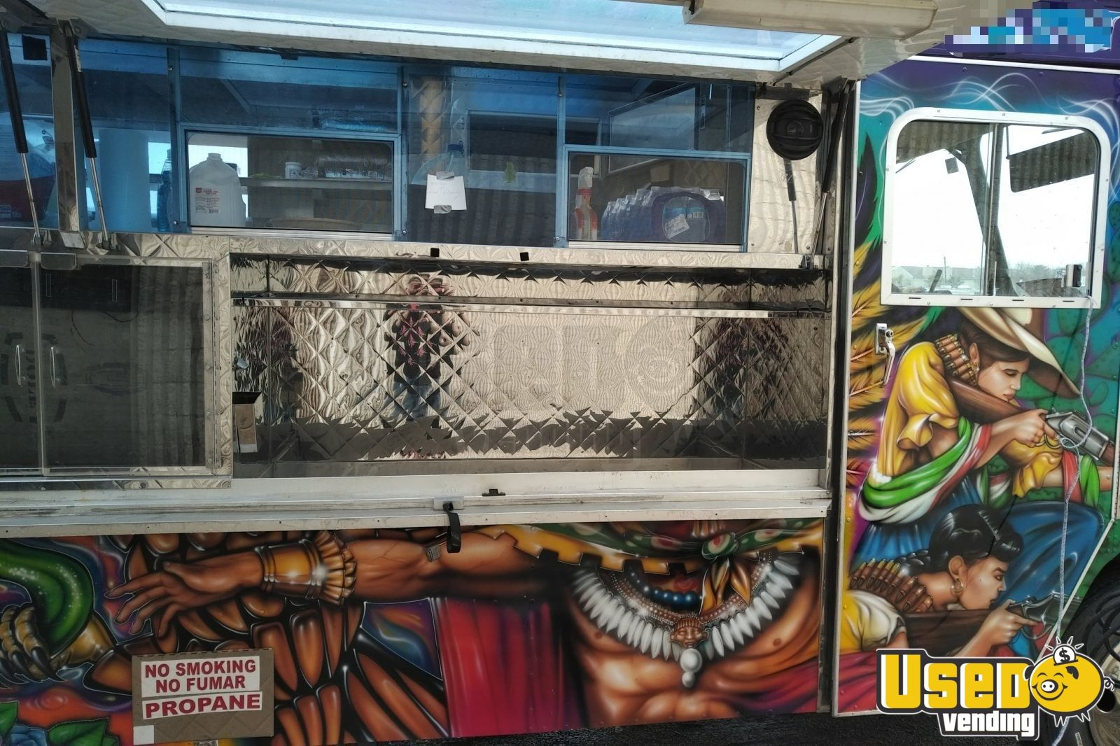1992 Chevy P30 All-purpose Food Truck Refrigerator Texas for Sale - 4