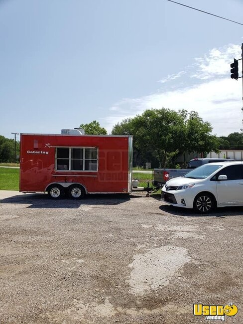 1992 Food Concession Trailer Kitchen Food Trailer Texas for Sale