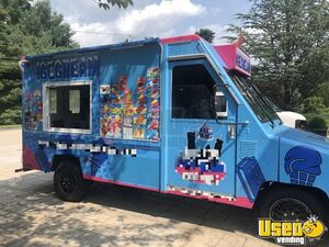 1992 Umc Ice Cream Truck Concession Window Massachusetts Gas Engine for Sale