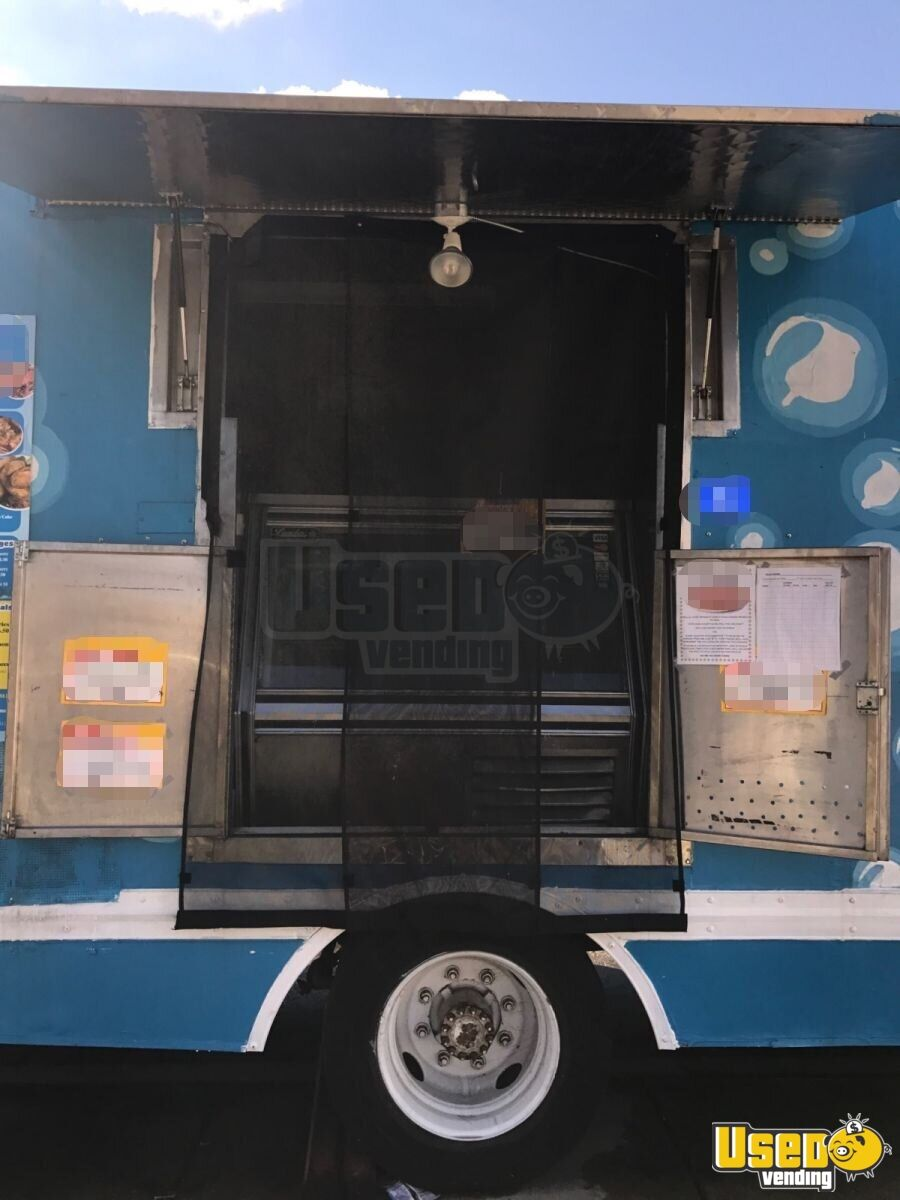 1993 C6000 Top Kick Food Truck Diamond Plated Aluminum Flooring Pennsylvania Gas Engine for Sale - 6