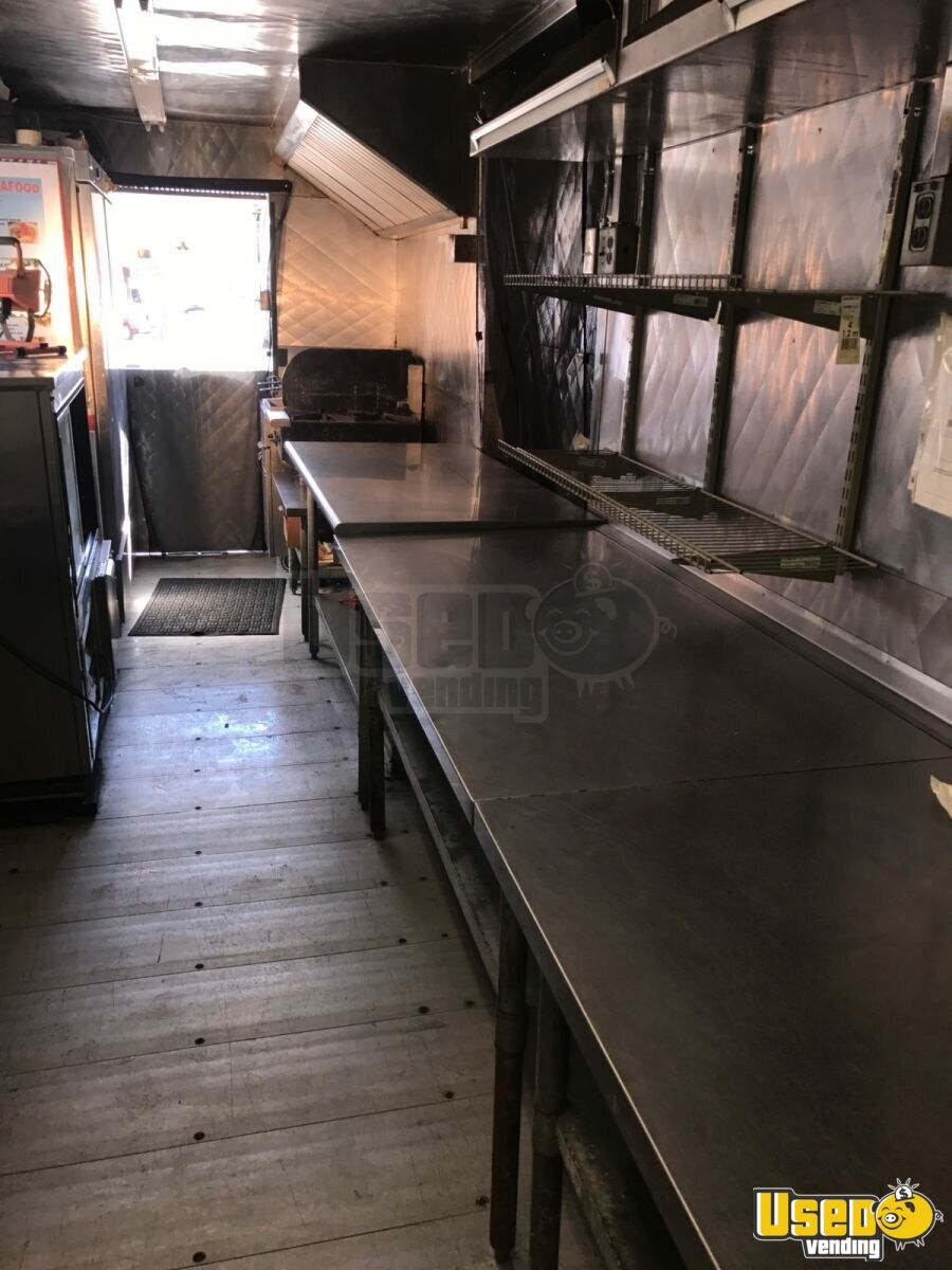 1993 C6000 Top Kick Food Truck Upright Freezer Pennsylvania Gas Engine for Sale - 11