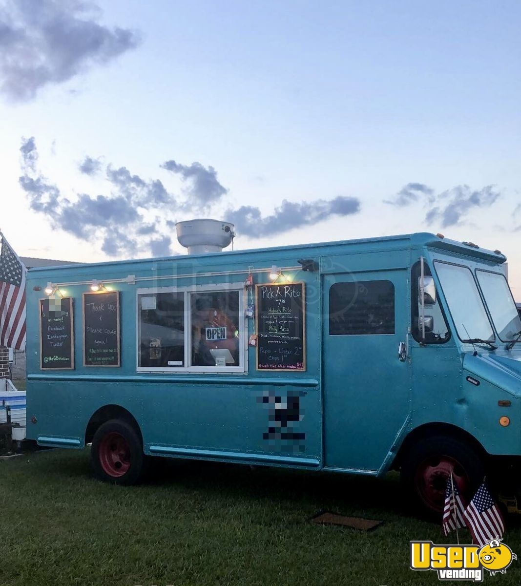 1993 Gmc P3500 All-purpose Food Truck Concession Window Mississippi Gas Engine for Sale - 2