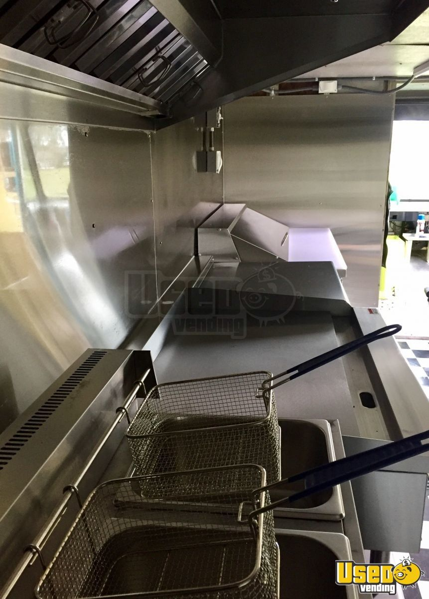 1993 Gmc P3500 All-purpose Food Truck Prep Station Cooler Mississippi Gas Engine for Sale - 9