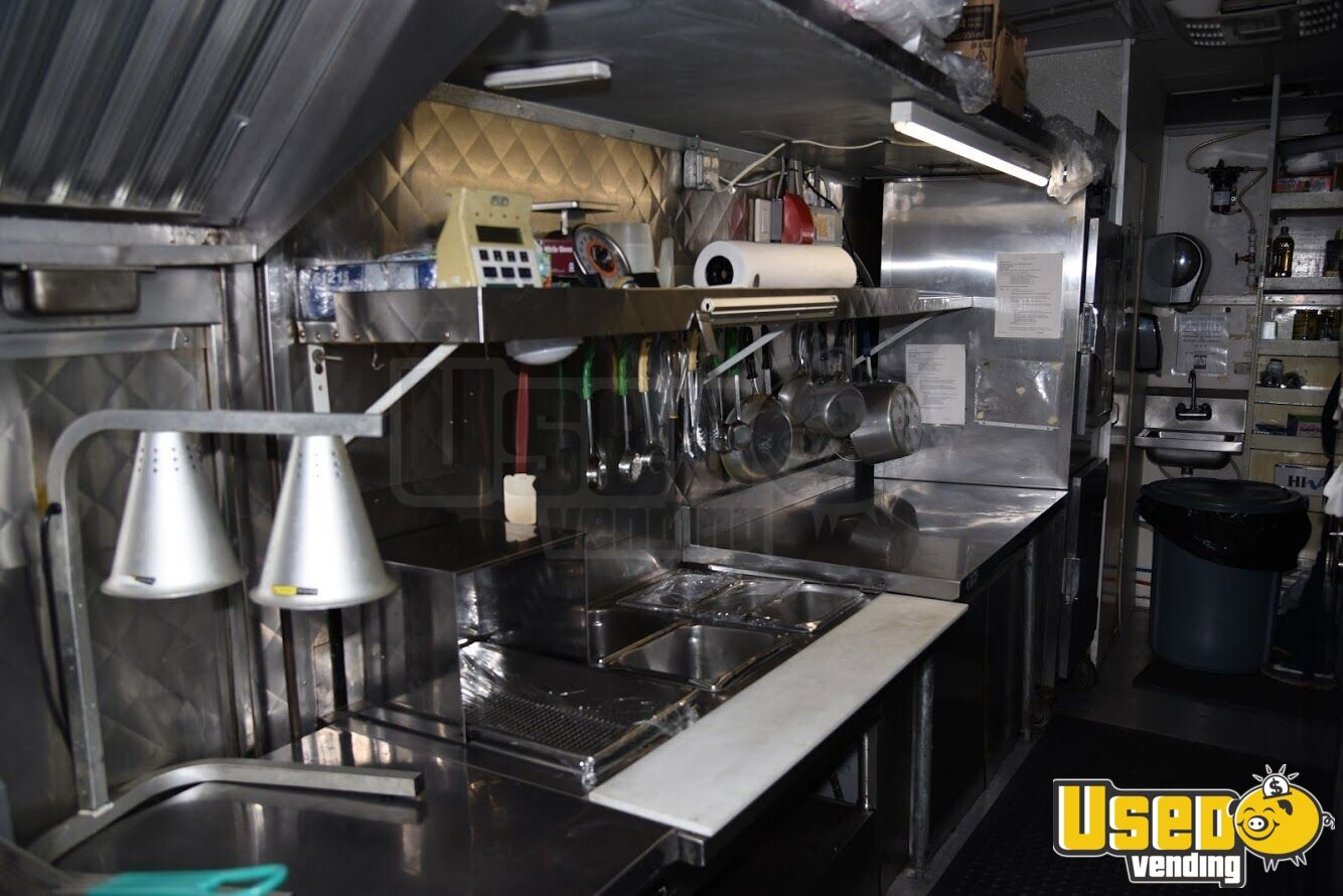 1993 Gmc Top Pick All-purpose Food Truck Concession Window Alabama Gas Engine for Sale - 3