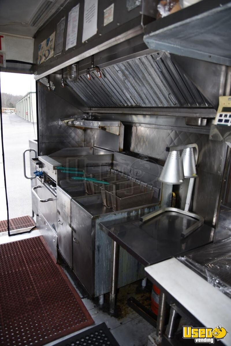 1993 Gmc Top Pick All-purpose Food Truck Stainless Steel Wall Covers Alabama Gas Engine for Sale - 5