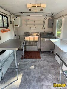 1993 Shaved Ice Concession Trailer Snowball Trailer Hot Water Heater Texas for Sale