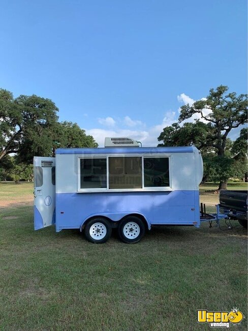 1993 Shaved Ice Concession Trailer Snowball Trailer Texas for Sale