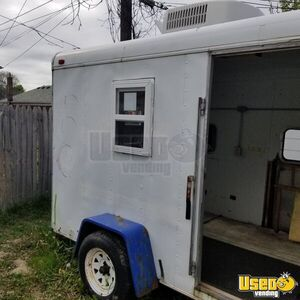 1993 T610 Empty Concession Trailer Concession Trailer Air Conditioning Michigan for Sale