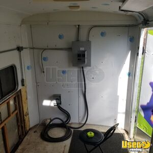 1993 T610 Empty Concession Trailer Concession Trailer Interior Lighting Michigan for Sale