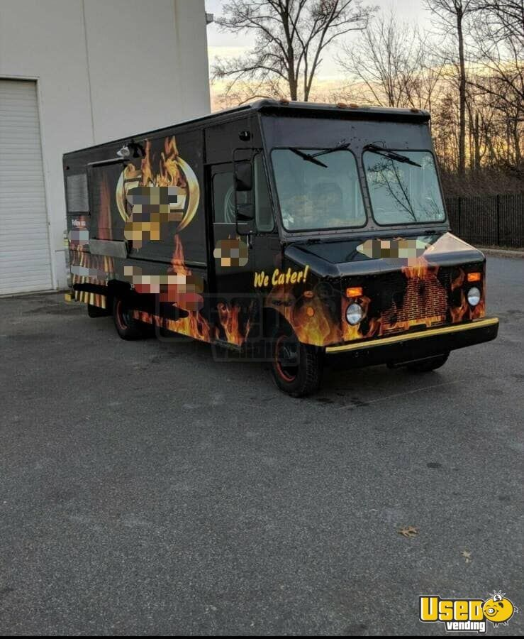 1994 Chevrolet Grumman All-purpose Food Truck Stainless Steel Wall Covers North Carolina Gas Engine for Sale - 3