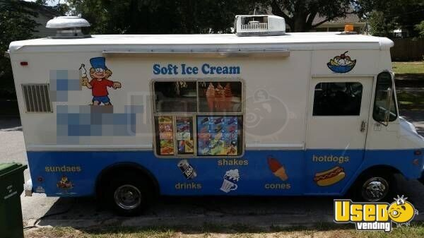 Used Food Truck For Sale >> For Sale Used Chevy Ice Cream Truck in North Carolina | Food Truck | Mobile Kitchen