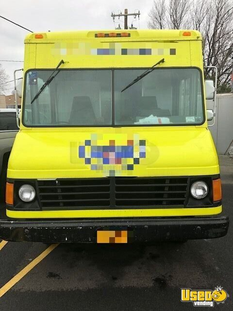 1994 Chevy P 30 Step Van All-purpose Food Truck New York Gas Engine for Sale