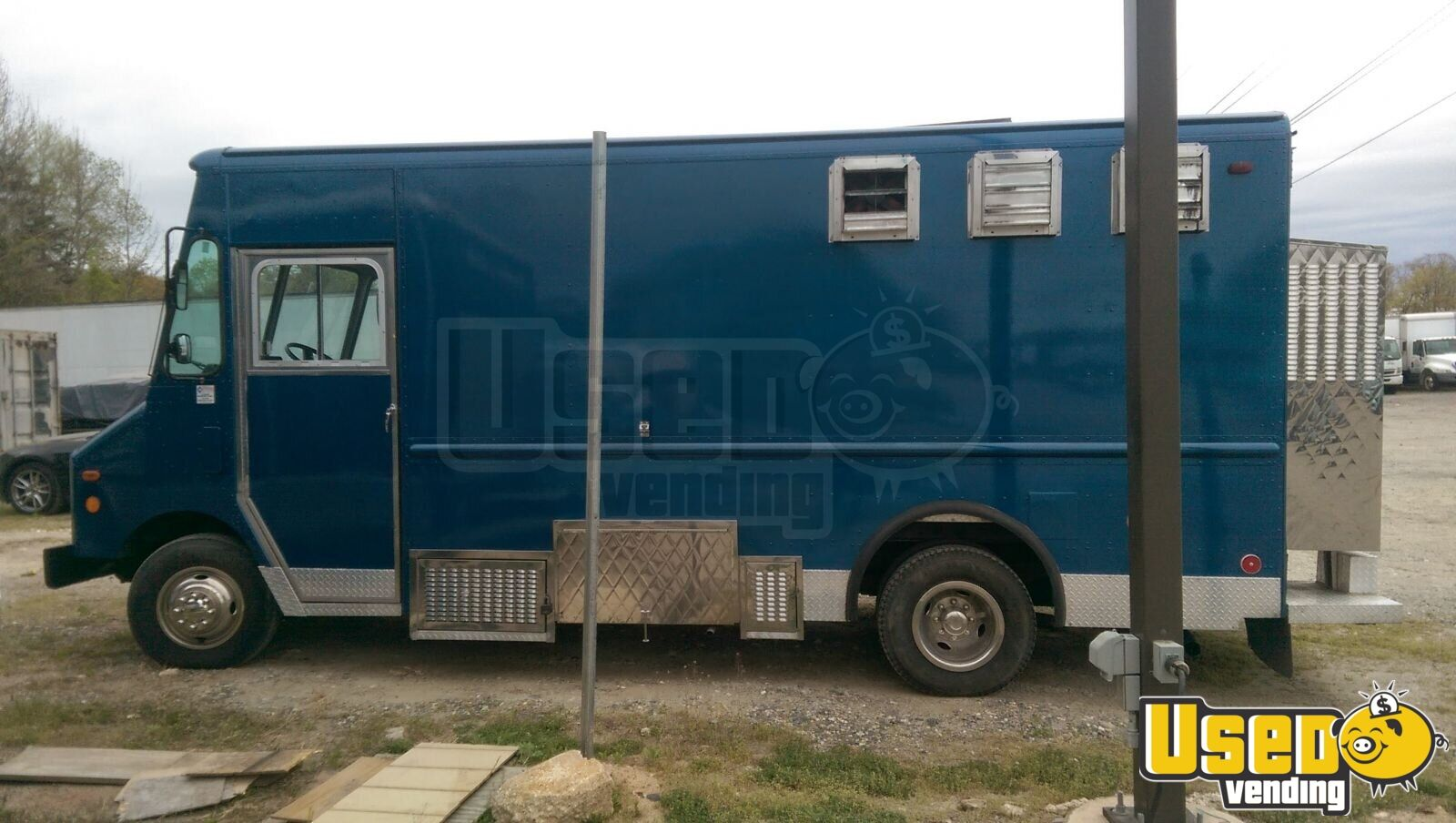 1994 Chevy P32 Van All-purpose Food Truck Cabinets Maryland Gas Engine for Sale - 3