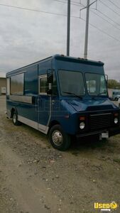 1994 Chevy P32 Van All-purpose Food Truck Diamond Plated Aluminum Flooring Maryland Gas Engine for Sale