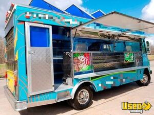 1994 Chevy Step Van P30 Food Truck Concession Window Texas Gas Engine for Sale