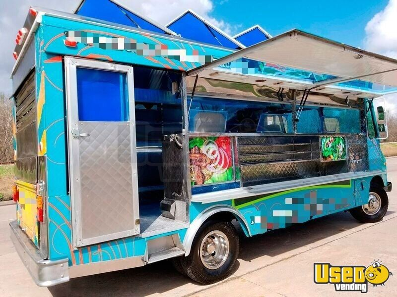 1994 Chevy Step Van P30 Food Truck Concession Window Texas Gas Engine for Sale - 2