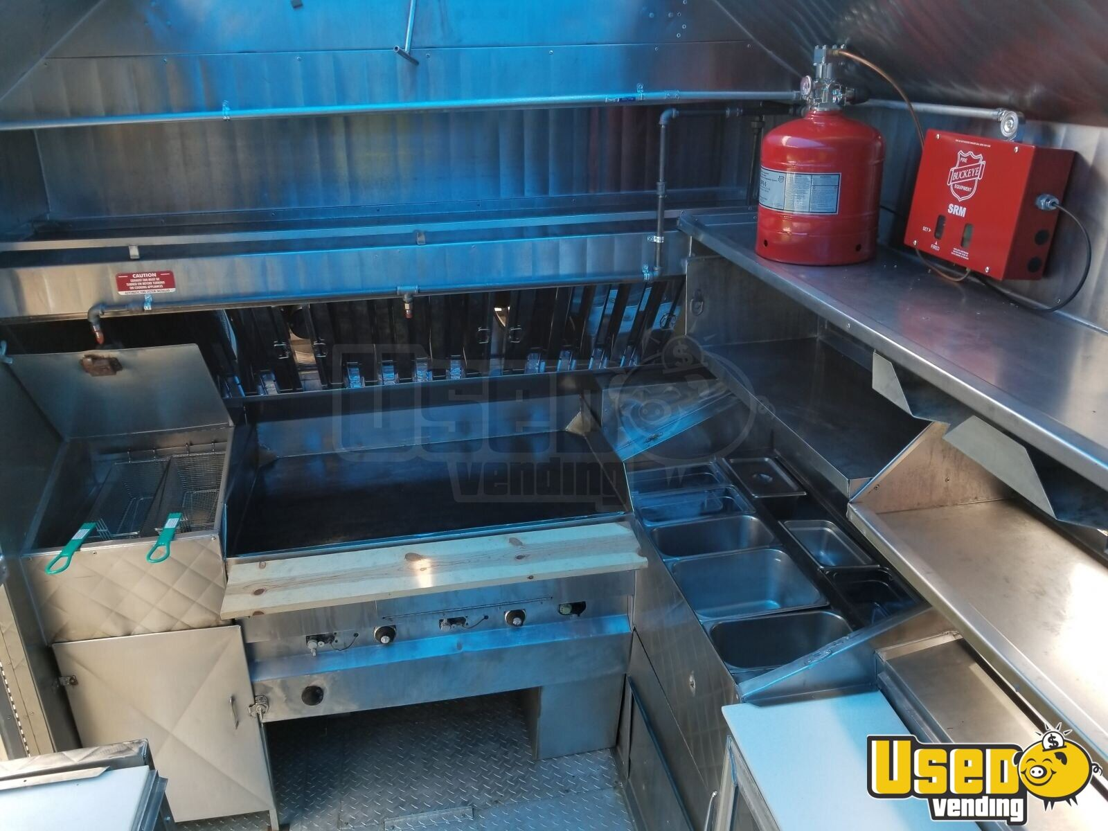 1994 Chevy Step Van P30 Food Truck Food Warmer Texas Gas Engine for Sale - 12