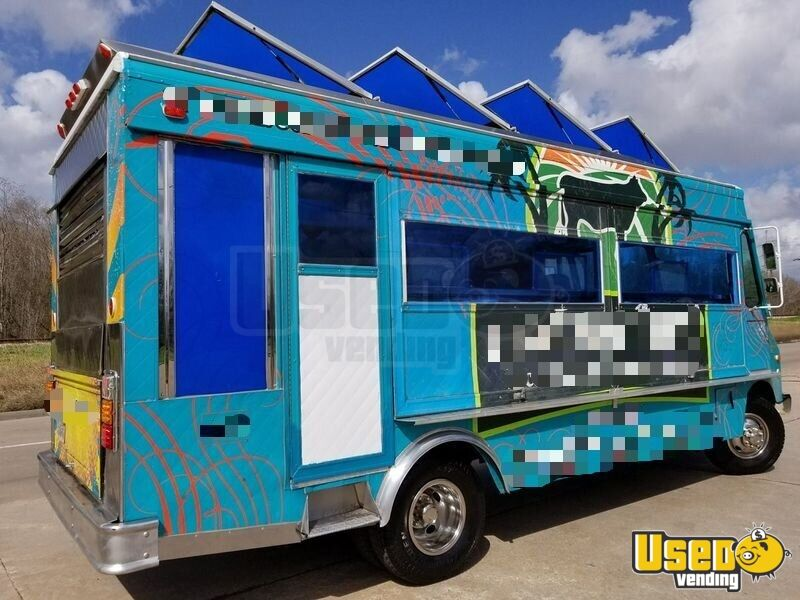 1994 Chevy Step Van P30 Food Truck Propane Tank Texas Gas Engine for Sale - 5